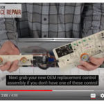 How to Replace Control Board WH12X10614