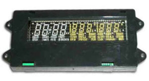 Range Clock Control Board WP71001872 2