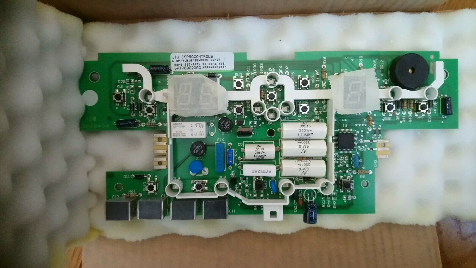 Genuine Whirlpool Fridge & Freezer Module Control Panel Board PCB