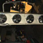 4 MOTOR FANS COIL FOR COOLER