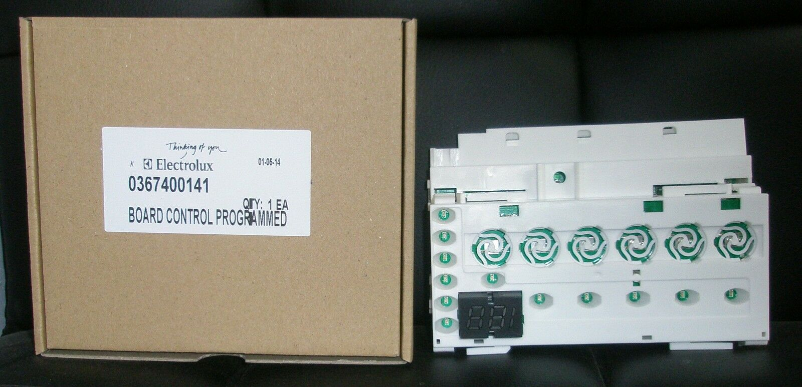 DISHLEX ELECTROLUX DISHWASHER ELECTRONIC CONTROL PC BOARD PART # 0367400141
