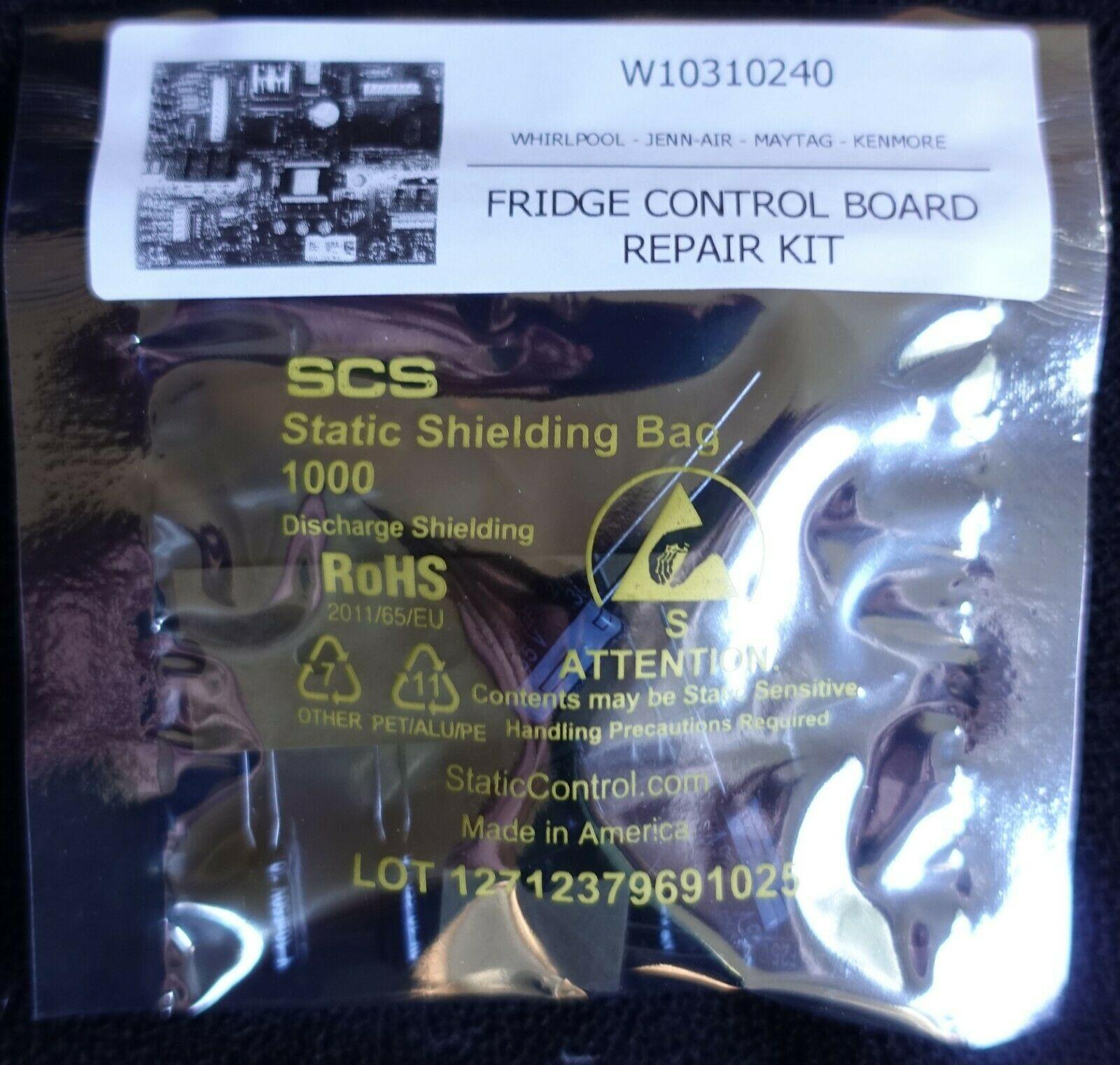 Fridge Control Board Repair Kit W10310240 W10213583 WPW10312695 Maytag JennAir