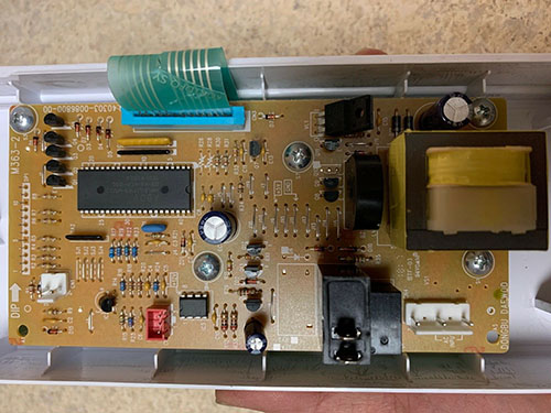 Microwave Sharp Control Board M363-2