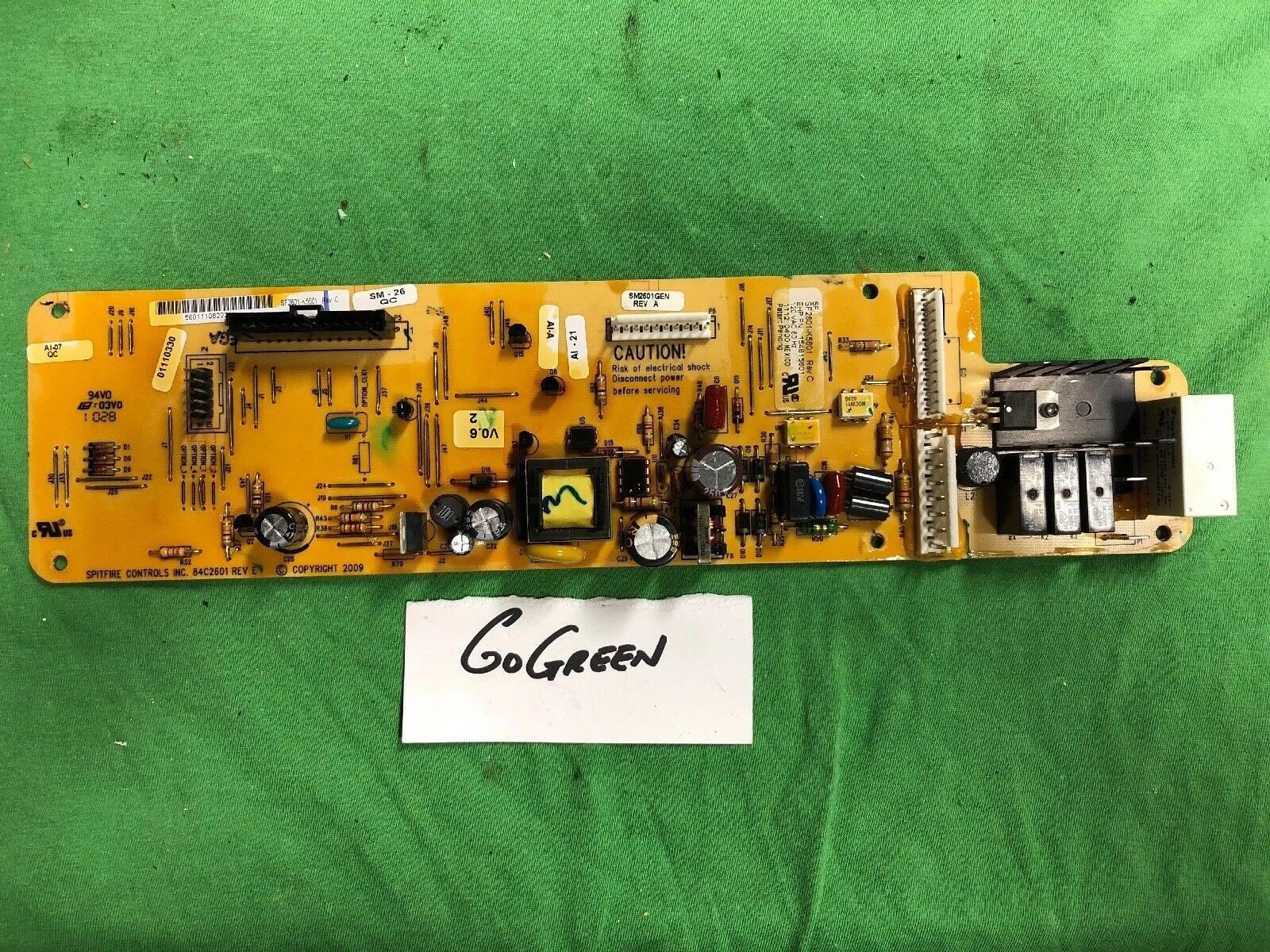 154815601 SF2601-KA 5601 Frigidaire Dishwasher Control *1 Year Warranty