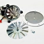"Bixby Combustion Exhaust Blower Motor Fan Kit + 5""  4000105, AMP-UNIVCOMBKIT"