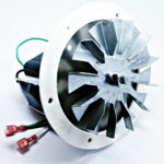 "Englander Combustion Exhaust Blower Motor + 4 3/4"" PU-076002B, PH-UNIVCOMBKIT-P"