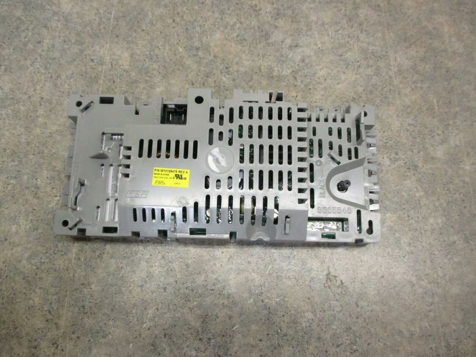 WHIRLPOOL WASHER CONTROL BOARD PART # W10189966 # W10188476