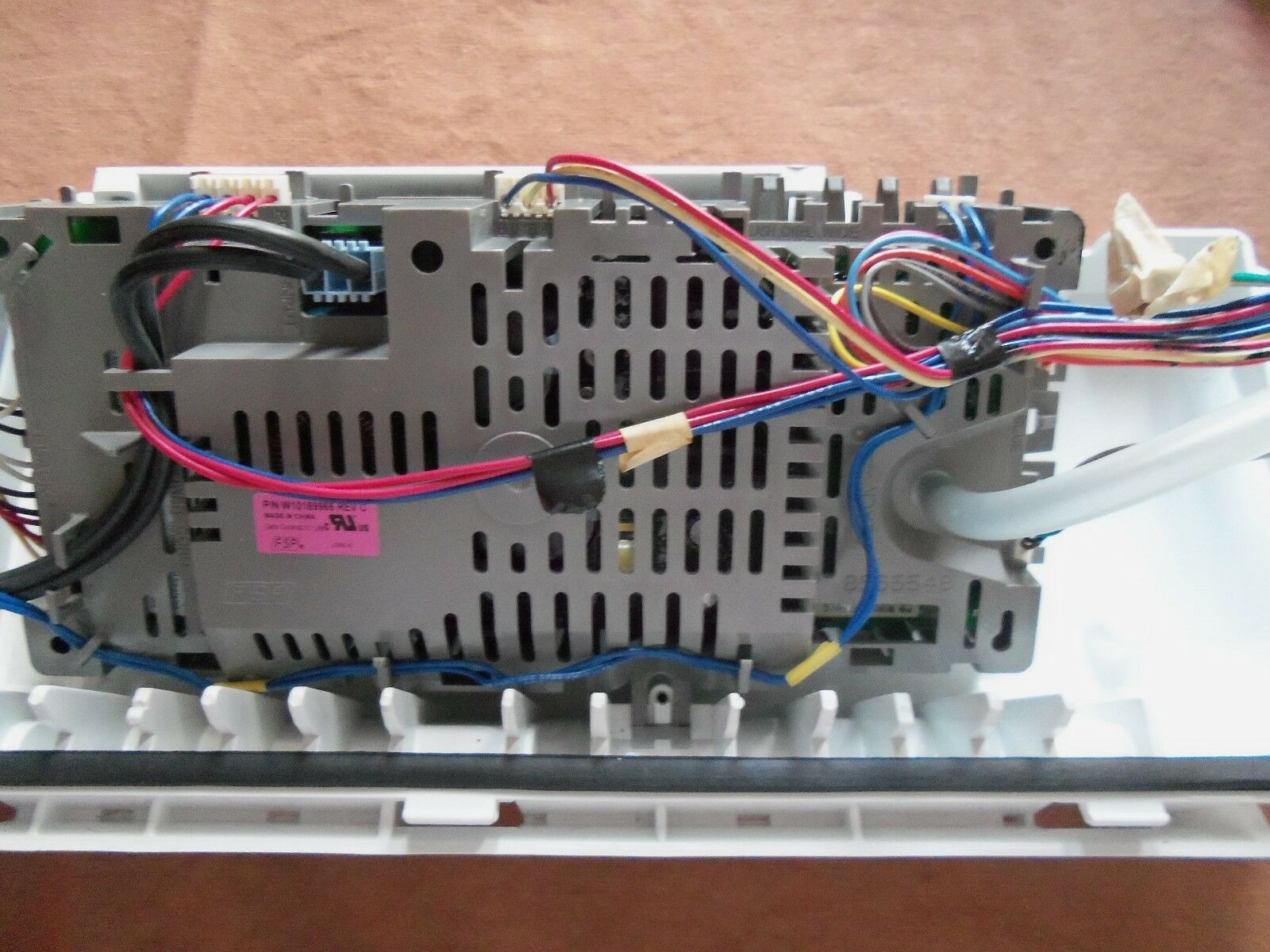 Kenmore Whirlpool Washer Electronic Control Board W10189966 with wiring