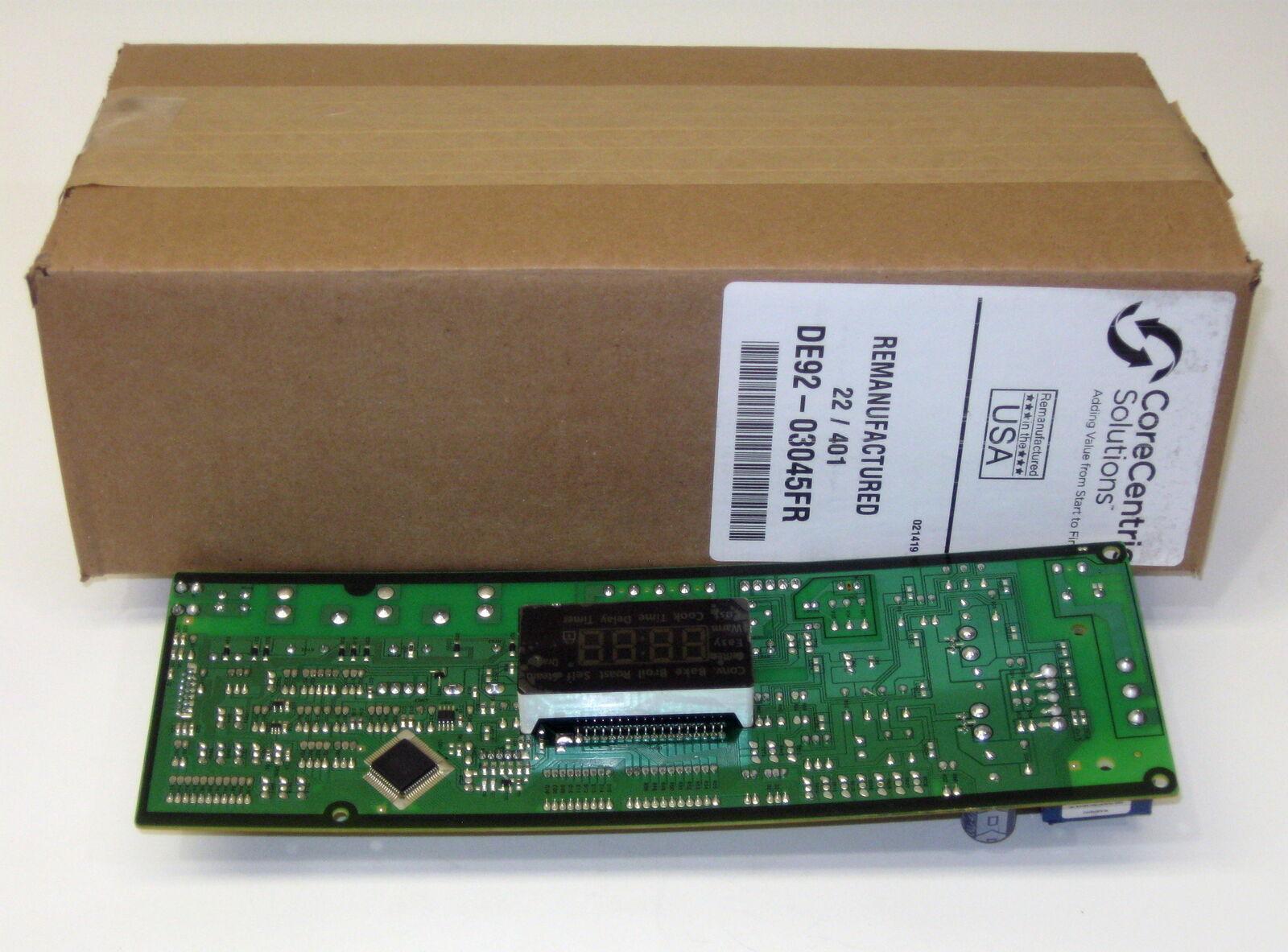 Range Oven Control Board DE92-03045F for Samsung