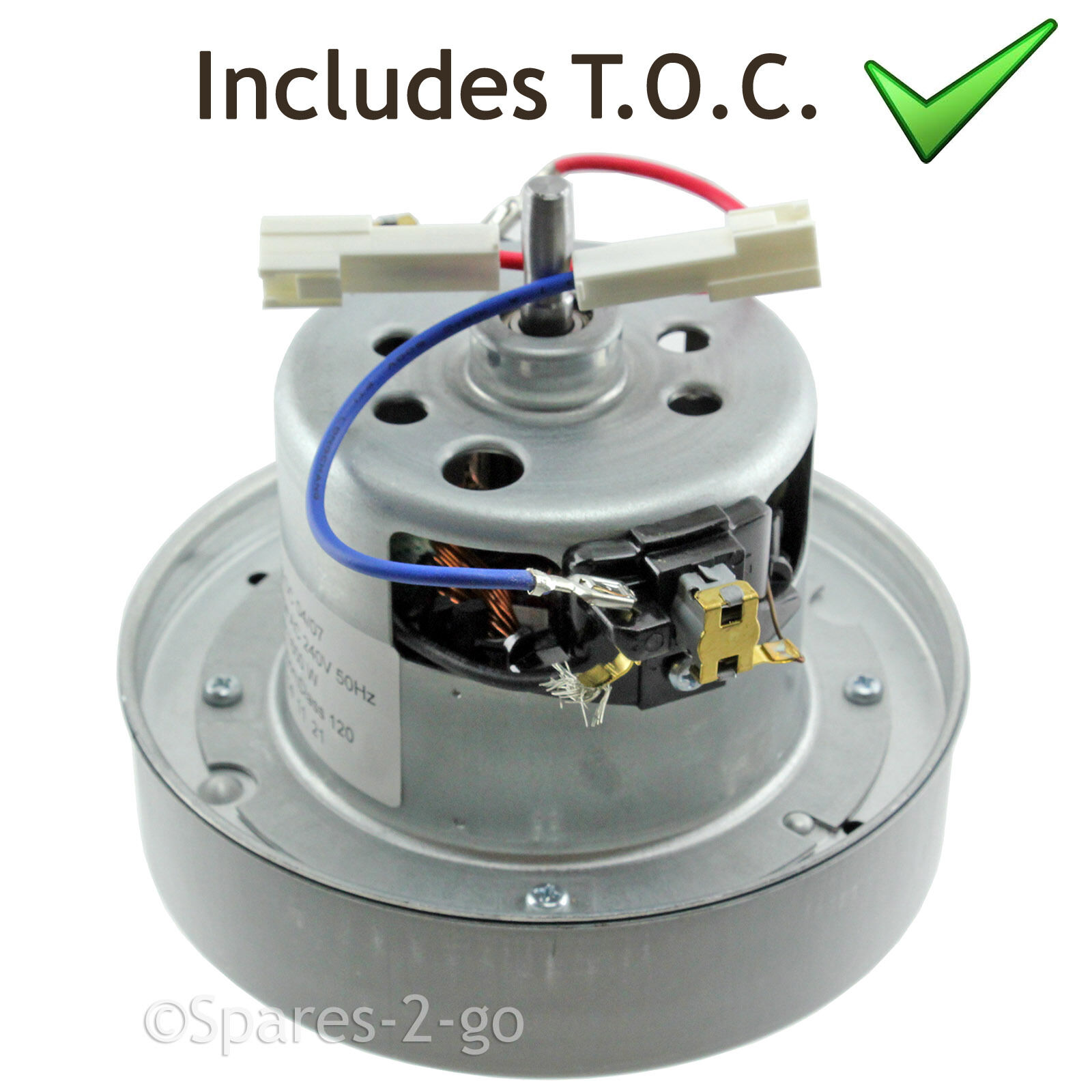 Vacuum Cleaner Hoover Motor Fits DYSON DC27 DC33 YV 2200 YDK 240V + TOC