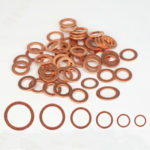 Various Sizes Brass Flat Washer Copper Crush Washers Gasket Seal Ring For Boat