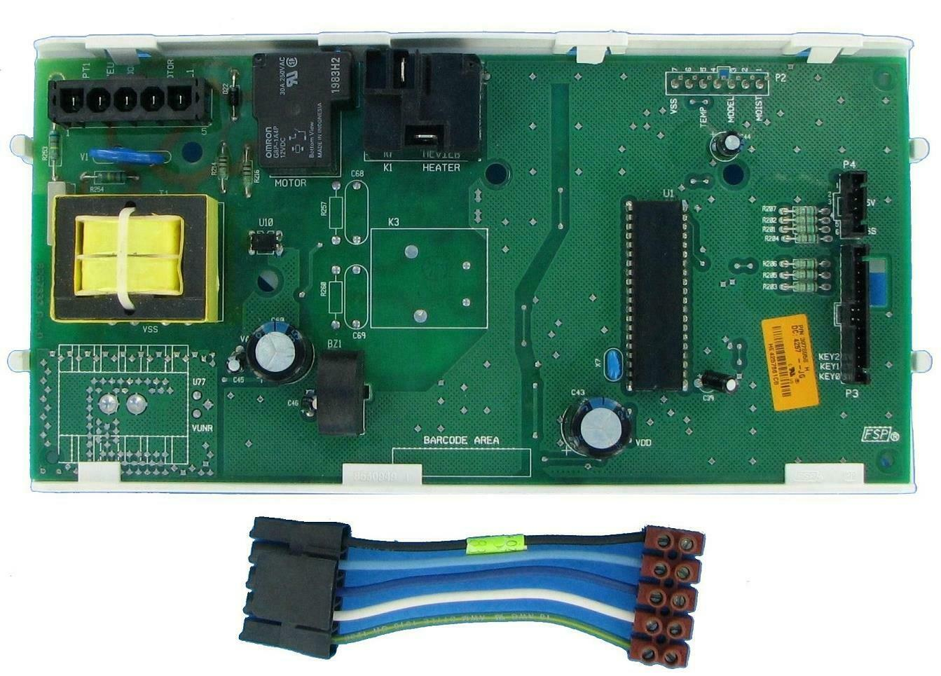 Laundry Dryer Control Board Part 3978918 works for Whirlpool Various Models