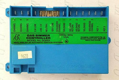 GGSCV365 Bosch Thermador Gas Simmer Controller Control Board