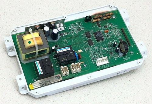 MDE5500AZW MDE5500AYQ Dryer Control Board