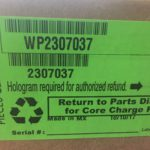 Whirlpool Refrigeration 2307037 / WP2307037. No open box