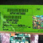 Whirlpool W10675033 Electronic Control Board