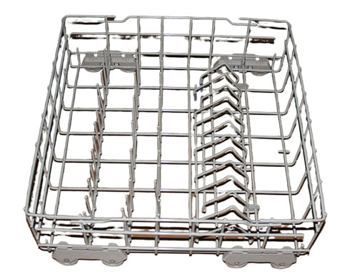 DU850SWKB0 Whirlpool Dishwasher Lower Dish Rack Assembly