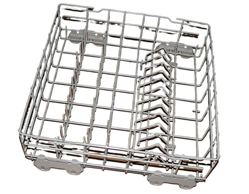 DU915PWKS0 Whirlpool Dishwasher Lower Rack Assembly