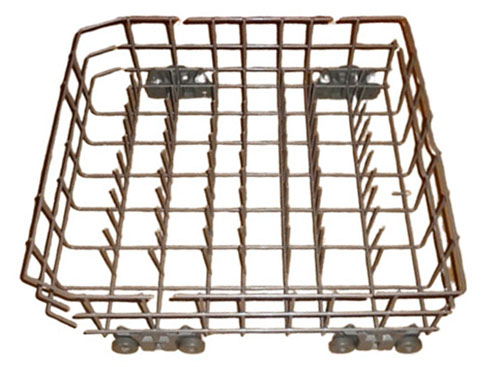 66516972202 Kenmore Dishwasher Lower Dish Rack Assembly