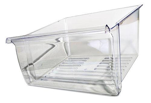 ED25TQXEW00 Whirlpool Refrigerator Crisper Pan Drawer
