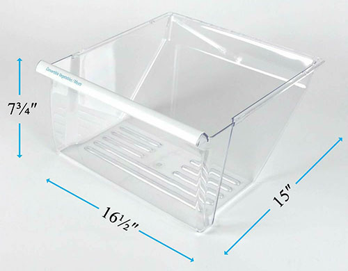 10644254400 Refrigerator Meat Crisper Drawer
