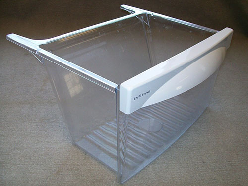 GSL25IGXNLS GE Refrigerator Meat Drawer Pan