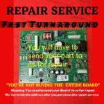 REPAIR SERVICE Whirlpool  W10310240 12920724 12920721  Control Board wpw10312695
