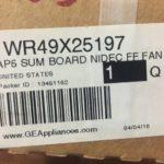 GE WR49X25197. SUM BOARD NIDEC FF FAN.