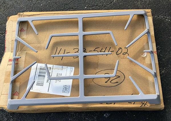 Oven Rangetop Burner Grate 00142637