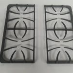 Stove rangetop for Frigidaire CFGS3035LS3 CGDS3065KB1