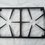 "72733SB Dacor Range Black Cast Iron Oven Stove Range Burner Grate 12"" By 20"""