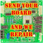 KITCHENAID WHIRLPOOL W10219462 W10219463 CONTROL BOARD REBUILD SERVICE CHIRP FIX