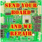 KITCHENAID WHIRLPOOL W10219462 W10219463 CONTROL BOARD REBUILD SERVICE CHIRP FIX