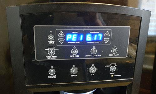 Whirlpool GI5FVAXVB02 Refrigerator Electronic Control Board