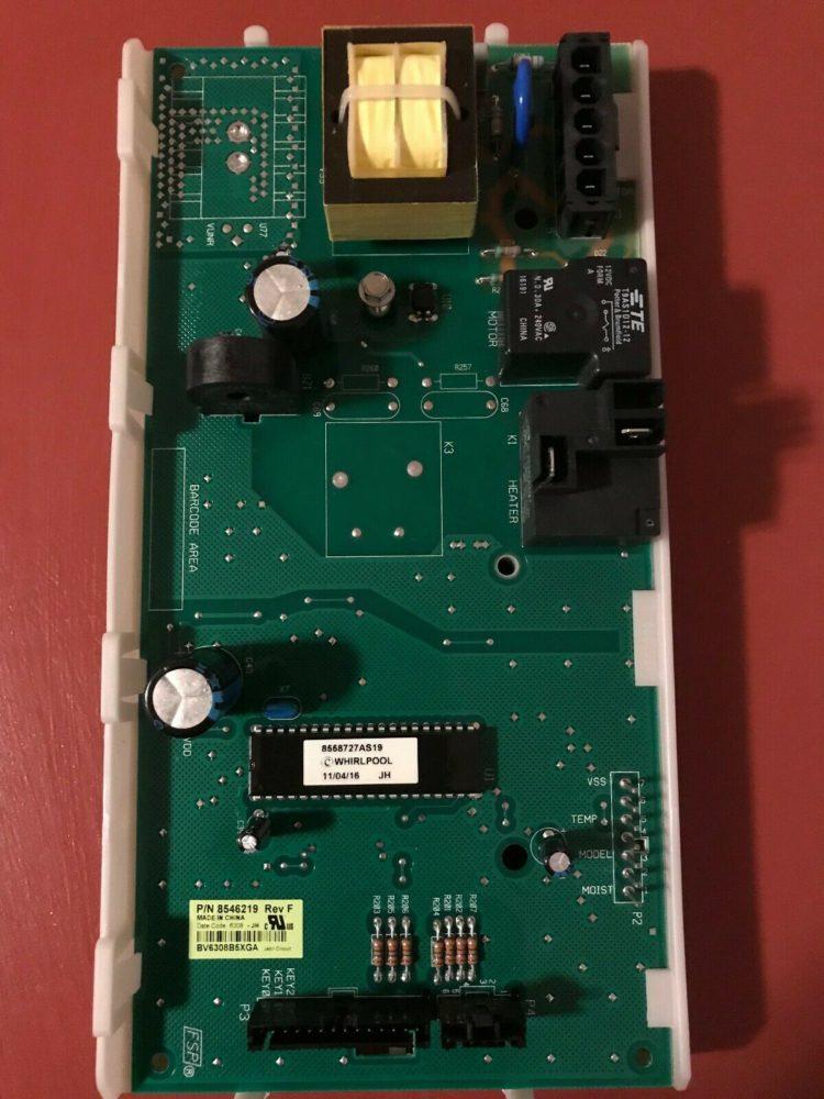 Dryer Main Control Board for Whirlpool 7MGGW9200MW0 GEW9200LW2