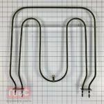 Range Broil Element for KitchenAid KEBC107HBL2 KEBC107HBL3