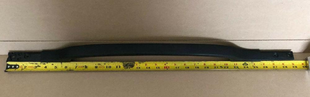 GE REF FRIDGE DOOR HANDLE WR12X10332 -197D1280 -WR12X10434 BLACK