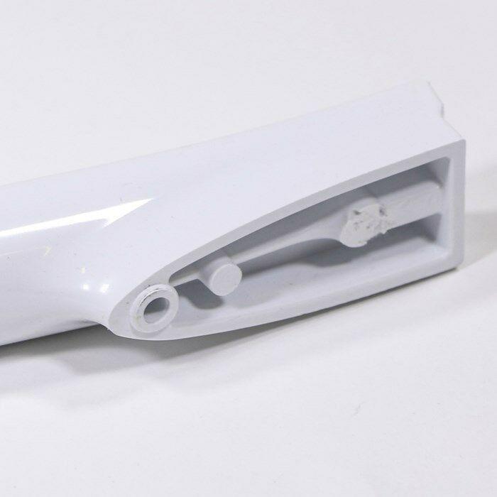 W10300489 WHIRLPOOL Range oven door handle (white)