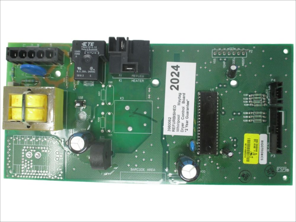 Whirlpool 7MGGW9200MW0 Dryer Control Board Assembly