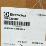 Electrolux Washing Machine Control Board 809020007 for Front-Load Washer EIFLS60JIW0 EIFLS60JIW1