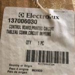 137006030 FRIGIDAIRE ELECTROLUX WASHER CONTROL BOARD OEM GENUINE NEW