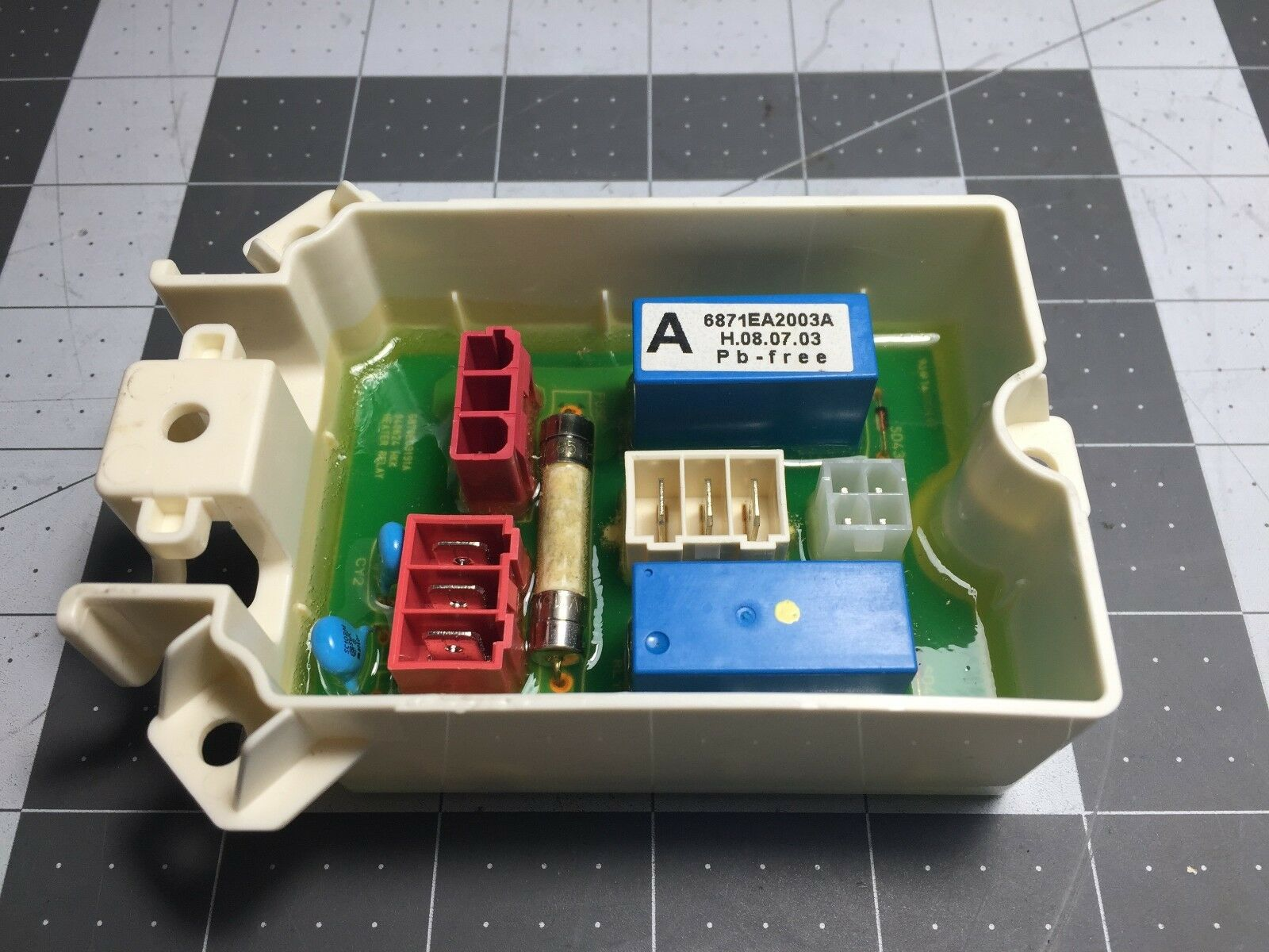 GE Washer Heater Board 6871EA2003A P# WH12X10286