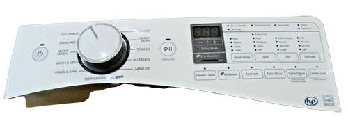 Whirlpool Washer Control Panel W10750481