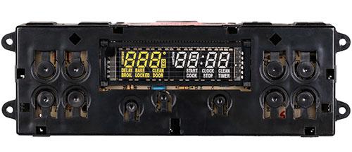 WB27K5038 GE Electric Range Control Board