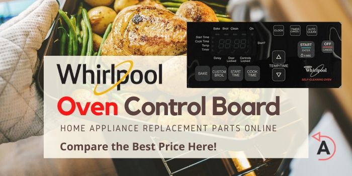 Whirlpool Oven Control Board Black Panel Replacement Parts