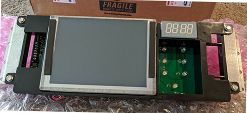 GE Monogram Oven LCD Control Board WB27T11264
