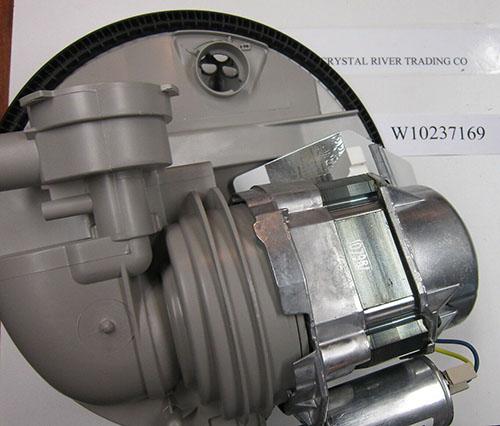 Whirlpool Dishwasher Motor Sump Pump W10237169
