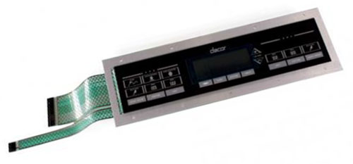 Dacor Double Oven Control Panel 62683B