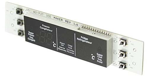 Samsung DA41-00264D Refrigerator Control Display Board