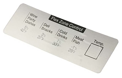 Samsung Refrigerator Main Board DA64-04526A Printed Inlay